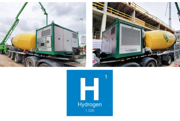 Terberg introduces electric and hydrogen PTO for construction industry