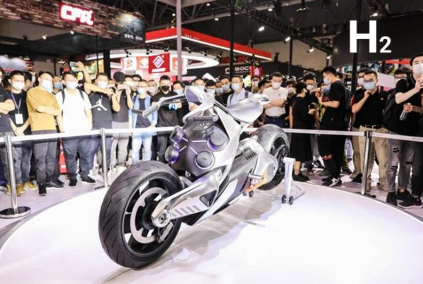 X IDEA Launches a Fuel Cell Concept Motorcycle