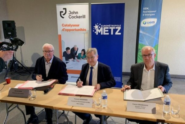 Fuel Cells Works, John Cockerill, UEM and Metz Métropole are Partners to Develop a Hydrogen Production Chain Dedicated to Ecomobility