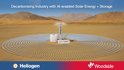 Fuel Cells Works, Heliogen and Woodside to Collaborate on Breakthrough Solar Technology Project to Reduce Carbon Emissions